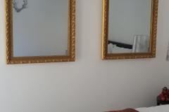 Spiegel Heizkörper mit Massivholz Rahmen