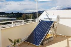 Solaranlage in Algarrobo
