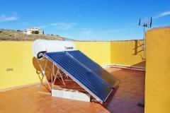 Solaranlage mit 300l Brauchwasser