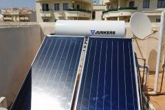 Solaranlage mit 300l Brauchwasser in Nerja