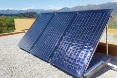 Solaranlage in der Axarquia